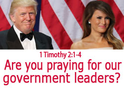 Are You Praying for President Trump?