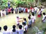 Aeta people baptized