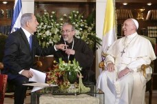 Netanyahu and Pope Francis