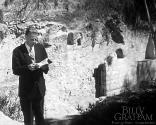 Billy Graham at the empty tomb