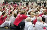 flash mob in france