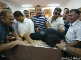 grieving at an Iraqi funeral