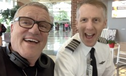 Delightful! Watch This Famous Gospel Singer and Airline Pilot
