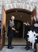 Mariano and wife open new church