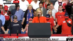 Powerful Prayer Opened President Trump's 2020 Campaign Rally in