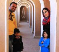 Pastor Saeed and family