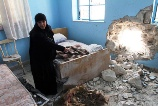 a Syrian Christian's home attacked